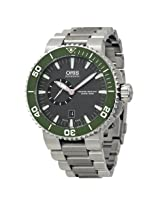 Oris Aquis Automatic Grey Dial Stainless Steel Men's Watch (743-7673-4137MB)