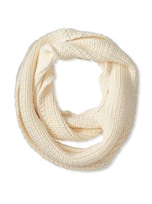 525 America Women's Shaker Infinity Scarf, Winter White
