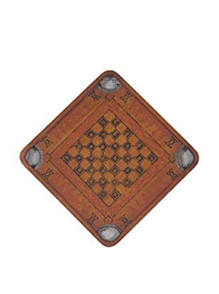 Guildmaster Vintage-Inspired Checkerboard (Dark Wood)