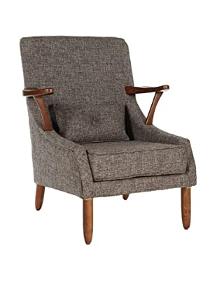 Control Brand Vejle Arm Chair, Twill Brown