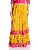 Shree Women's Full Skirt