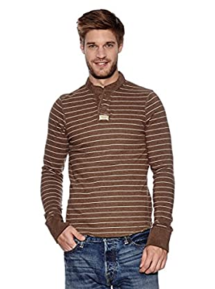 Abercrombie & Fitch Longsleeve Classic Henley (braun)