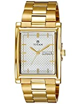 Titan Karishma Silver White Dial Watch For Men 90024YM03J