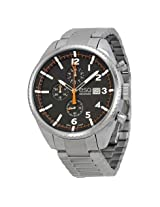 Esq By Movado Catalyst Chronograph Black Dial Stainless Steel Men'S Watch - Esq-07301427