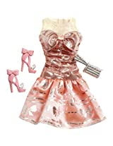 Mattel Barbie Doll Outfits 2013 Coral Pink Party Dress