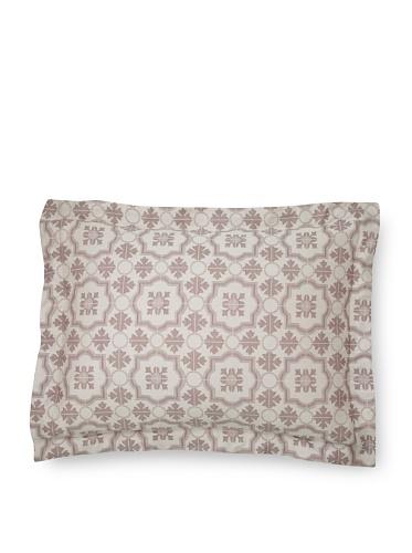 Mili Designs Gioto Pillow Sham (Burgundy)
