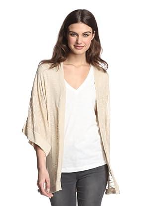 525 America Women's Kimono Slub Cardigan (Linen)
