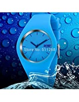 Luxury Brand EYKI 8408 Men Women Day Date Watch Fashion Leather Analog Quartz Watch Dress Relogio Rolojes