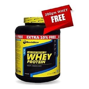 MuscleBlaze Whey Protein, 4.85 lb Chocolate
