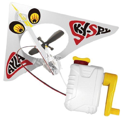 「ホームカイト」手回し発電機でプロペラ回転!部屋の中で飛ばせる室内凧