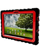 Gumdrop Cases Drop Tech Series Case for Asus EEE Pad Transformer TF101 Black-Red (DT-ASUS-BLK-RED)