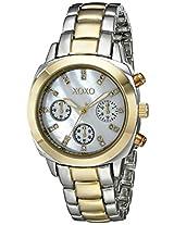 XOXO Women's XO5567 Two-Tone Bracelet Analog Watch