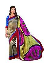 Bhavi Printed Baluchery Silk Sari