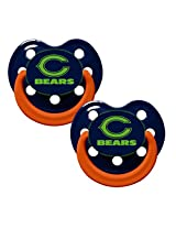 Baby Fanatic Pacifier Glow In The Dark, Chicago Bears