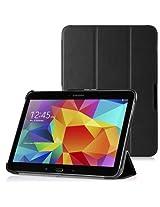 WAWO Samsung Galaxy Tab 4 10.1 Inch Tablet Smart Cover Creative Fold Case - Pink