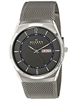 Skagen Analog Black Dial Men's Watch - SKW6078I