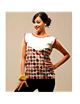 Swank Button Print FabricDesigner Wear