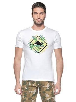Hot Buttered Camiseta Manga Corta Leaf