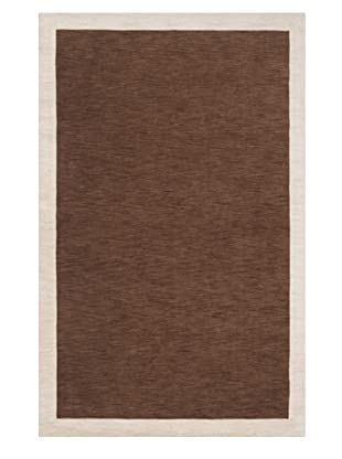 Surya Madison Square Rug (Coffee Bean, Parchment)