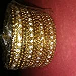 Metallic Oxidized Gold Traditional Bangle Set of 12