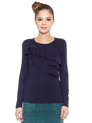 Poupé Chic Camiseta Volantes (Azul)