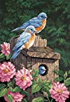 Dimensions Needlecrafts Paintworks Paint By Number, Garden Bluebirds