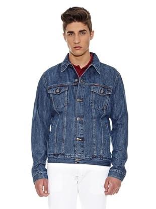 Carrera Jeans Cazadora Giubbino Western (Azul Medio)