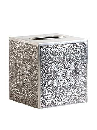 Shiraleah Brass Basma Tissue Box Cover
