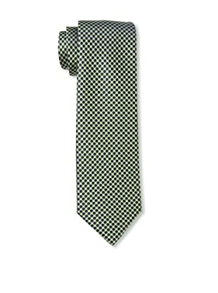 Yves Saint Laurent Men's Circles Tie, Green
