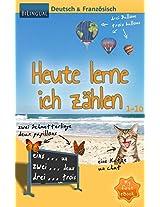 Heute lerne ich zählen - Deutsch & Französisch [Bilingual] (MyFirstEbook 1) (German Edition)