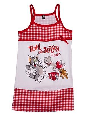 Disney Camisola Niña Tom y Jerry (Rojo)
