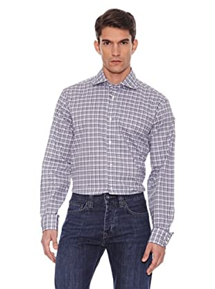 Hackett Camisa Cuadros (Gris / Blanco)