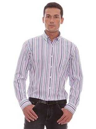 Gant Camisa Rayas (blanco)