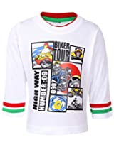 Babyhug Full Sleeves T-Shirt - Biker Tour Print