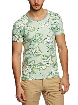 Scotch & Soda Camiseta Killien (Verde)
