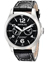 Invicta Analog Black Dial Men's Watch - 764