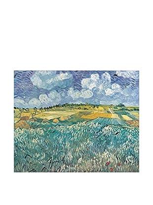 ARTOPWEB Wandbild Van Gogh Plan Auvers