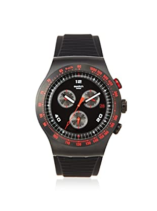 Swatch Men's YOB401 Black Silicone Watch