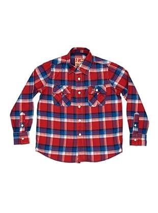 New Caro Camisa Martínez Niño (Rojo / Azul)