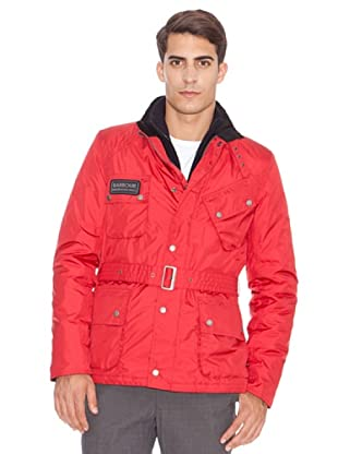 Barbour Chaqueta Impermeable Rainbow (Rojo)