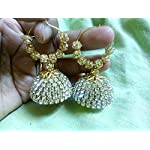 Dazzling Jewellery with full Stone Work