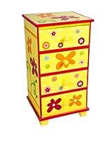 Ahafo Kids Storage Furniture in Multi-Colour Finish with Mudramark