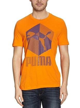 Puma T-Shirt Tanks (vibrant orange)