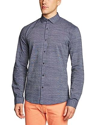 Selected Homme Camisa Hombre Chuzhou (Azul)