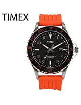 Timex Sport Orange Silicone Mens Watch