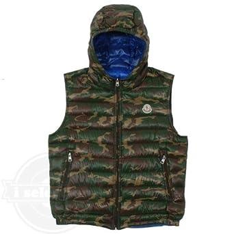 モンクレール パトリック カモ ダウンベスト Patrick Camo Vest 並行輸入品