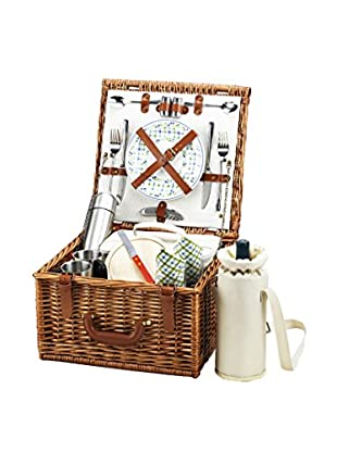 Picnic At Ascot Cheshire Basket For 2 with Coffee Service, Gazebo
