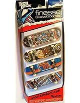 Tech Deck 4 Board Set Finesse 20011762