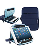 rooCASE XTREME Super Foam (Blue) Sleeve Cover for Apple iPad Mini / Galaxy Tab 2 7.0 / Kindle Fire HD 7 / Nexus 7 - Support Landscape and Portrait Display