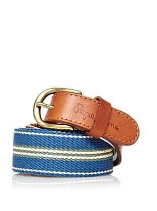 Pepe Jeans London Cinturón Istoben (Azul)